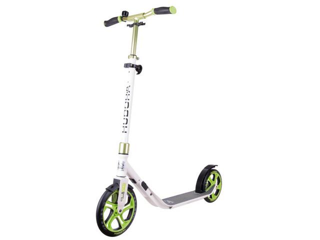 HUDORA CLVR Stads Scooter Step Kinderen, white/green